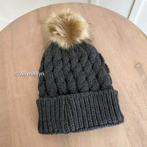 [FREE WITH ANY PURCHASE] - Grey Charcoal Beanie